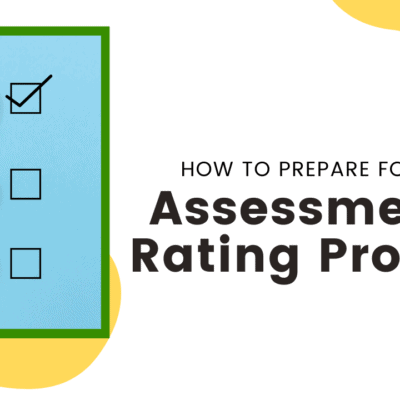 prepare for assessment & rating process