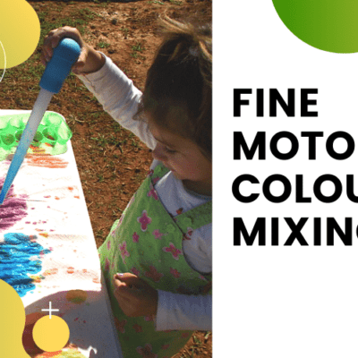 Fine Motor Colour Mixing
