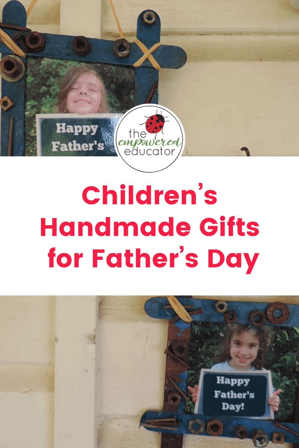 children's handmade gifts for father's day
