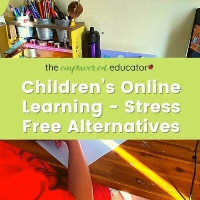 Stress Free Alternatives to Children's Online Learning