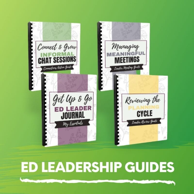 ED LEADERSHIP GUIDES - MEMBER HUB