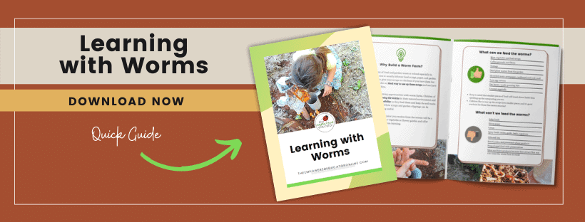 learning with worms freebie
