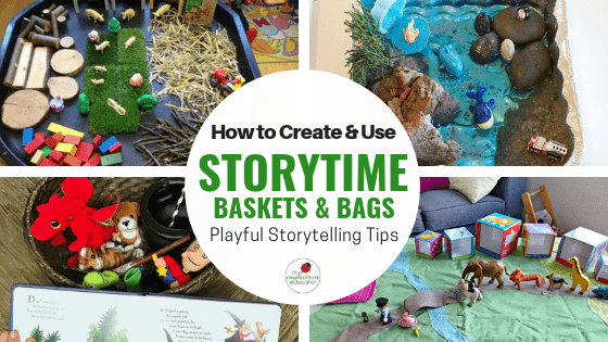 Inspiration for educators and homeschool with this collection of dramatic and imaginative play ideas to try.