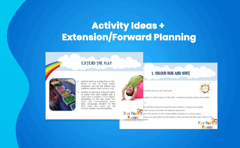 activity ideas with extension