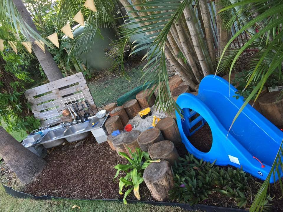 Create inspiring outdoor spaces for children on a tight budget using these real ideas & examples from early childhood educators!