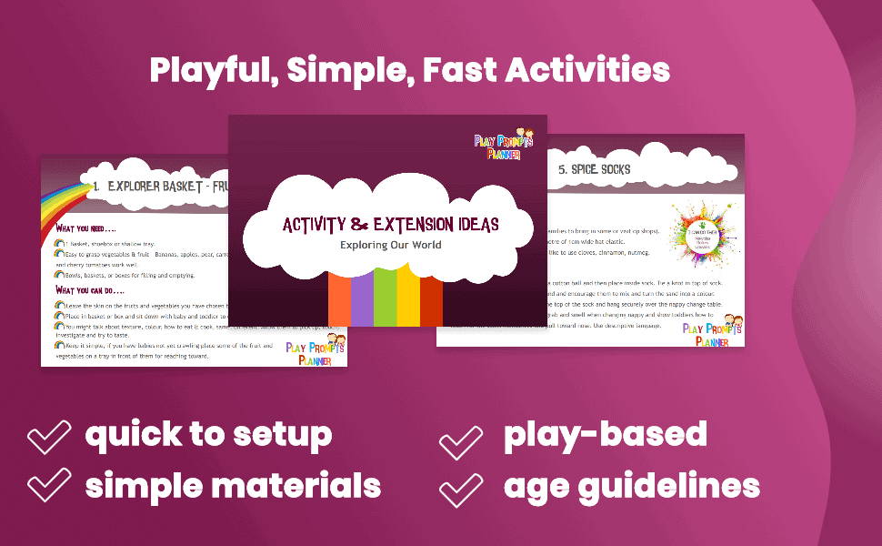 playful simple fast activities