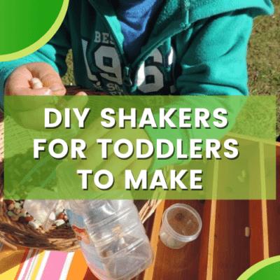 Easy DIY Toddler Shakers – Sustainable Fine Motor Fun!
