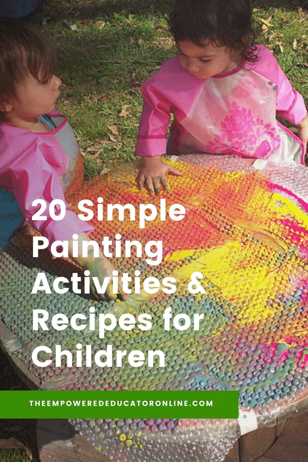 20 Simple Painting Activities for Children