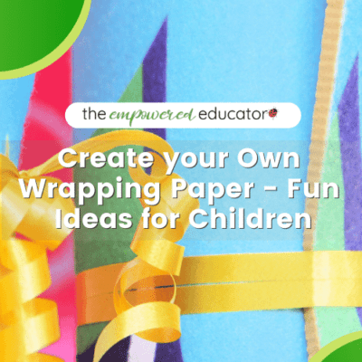 Make Your Own Wrapping Paper – Fun Ideas for Children