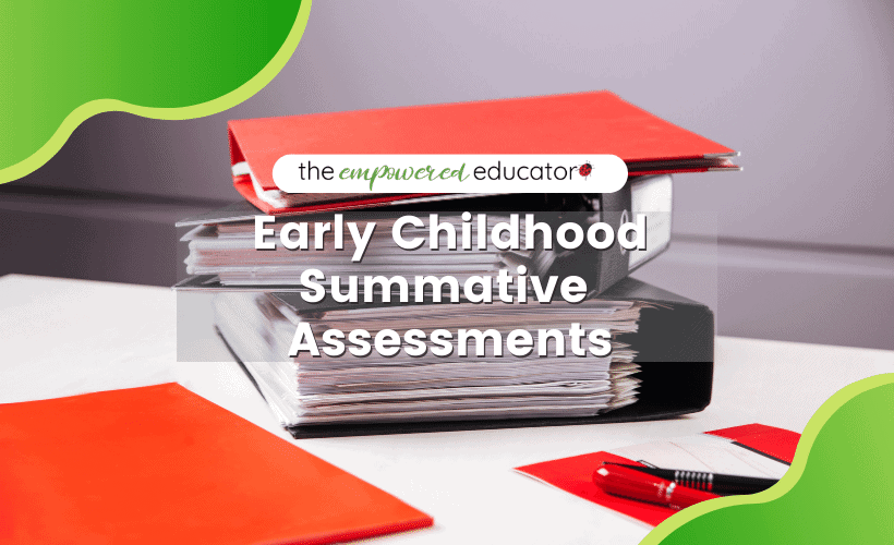 Find out what summative assessments really are, how to write one and why they don't need to be the cause of extra overwhelm for early years educators and teachers!Download a bonus tip sheet to guide best practice