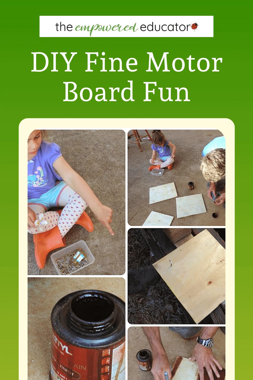 fine motor board fun