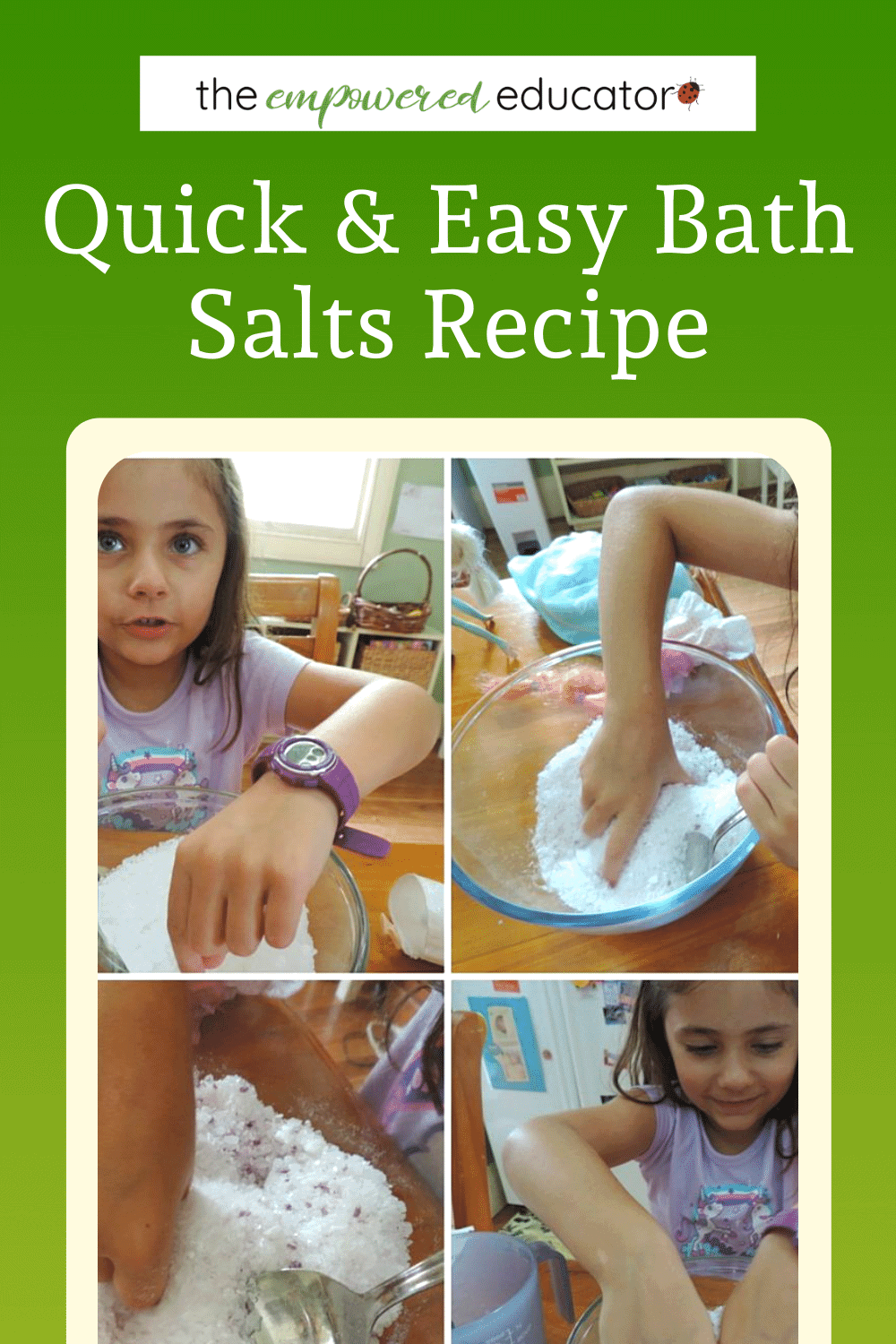 quick and easy baths salts recipe pin