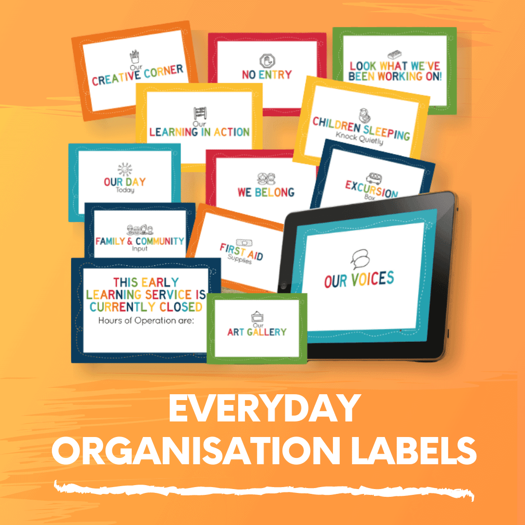 Everyday Organisation Labels