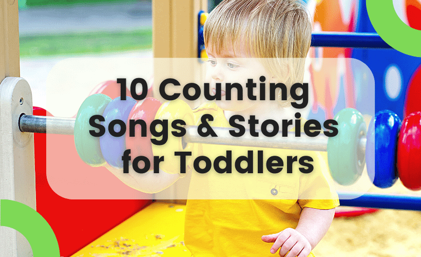 10 counting songs and stories for toddlers feature image