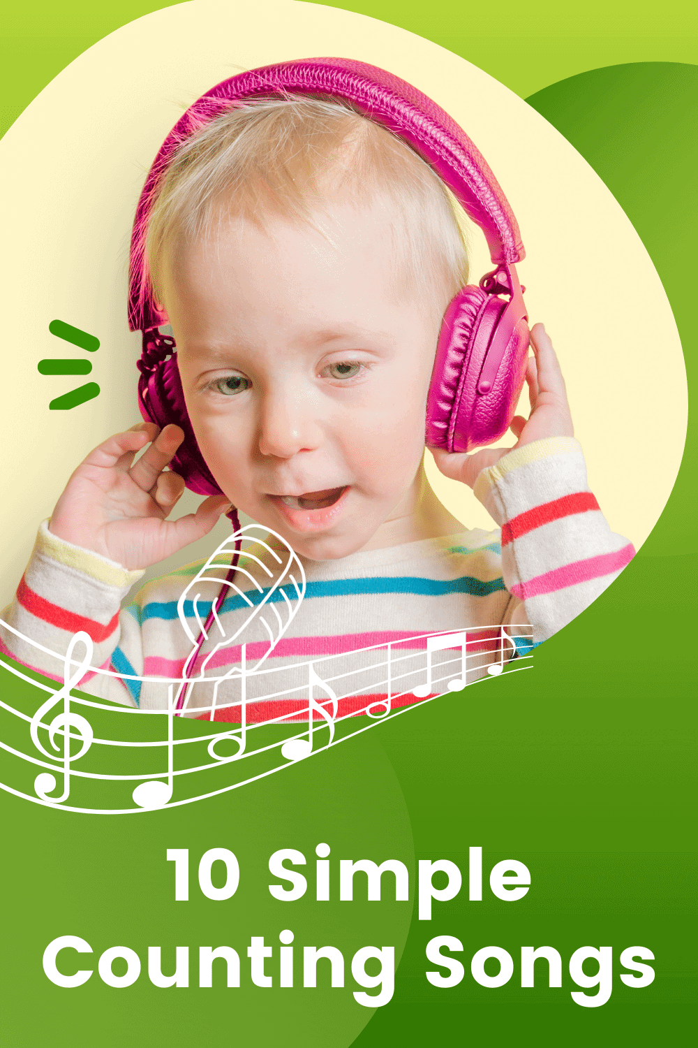 10 Simple Counting Songs for early years