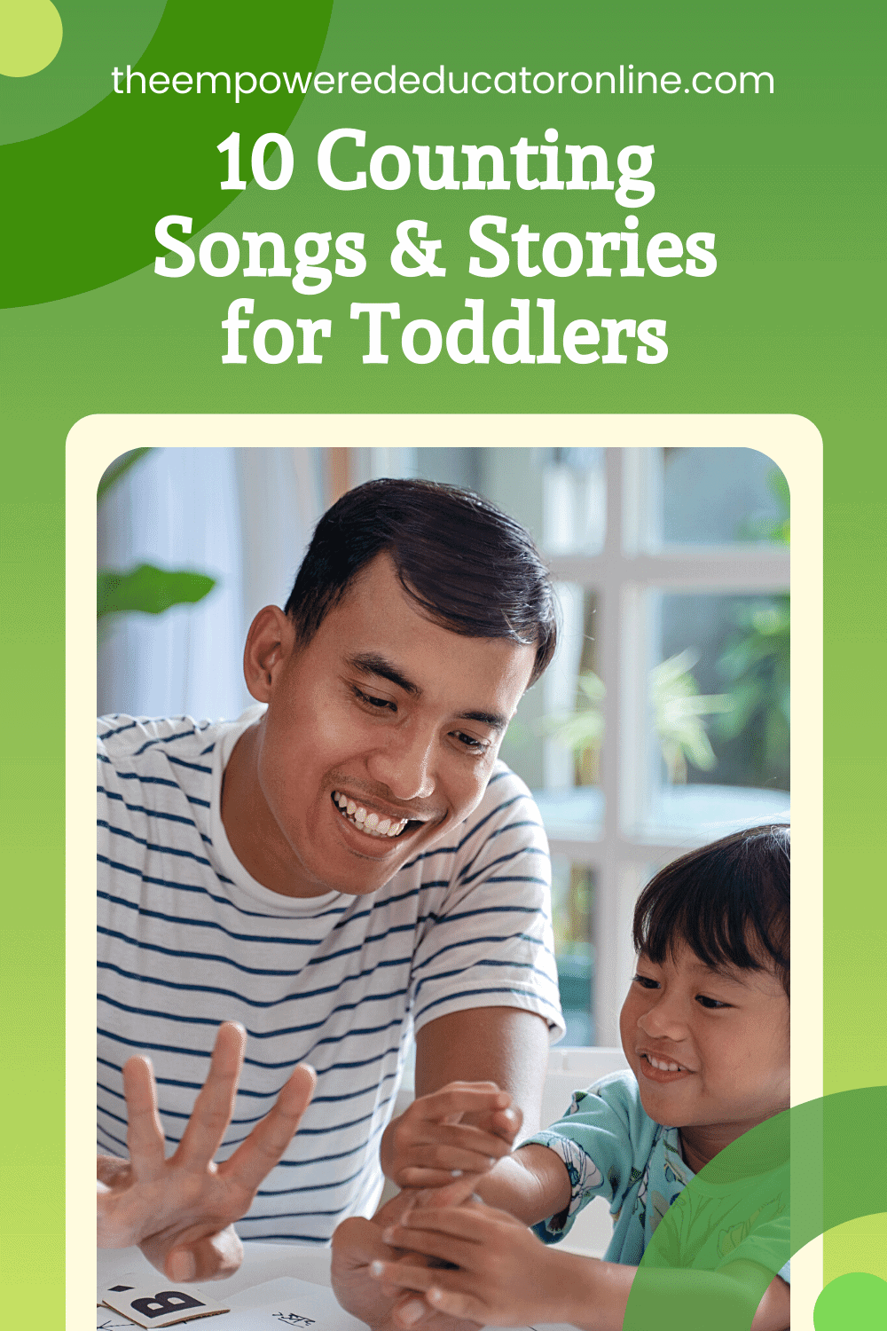 10 simple counting games/songs/books for toddlers