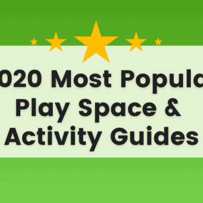 Popular Play Spaces and Activities for Early Learning