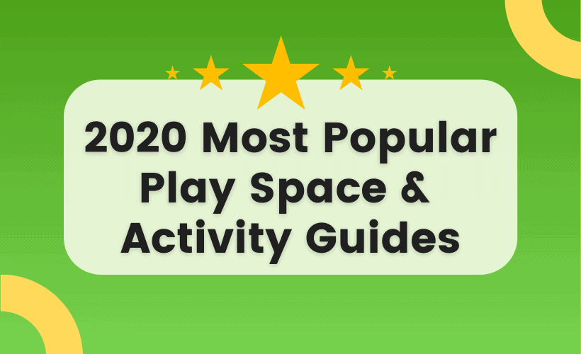 play spaces and activities for early learning