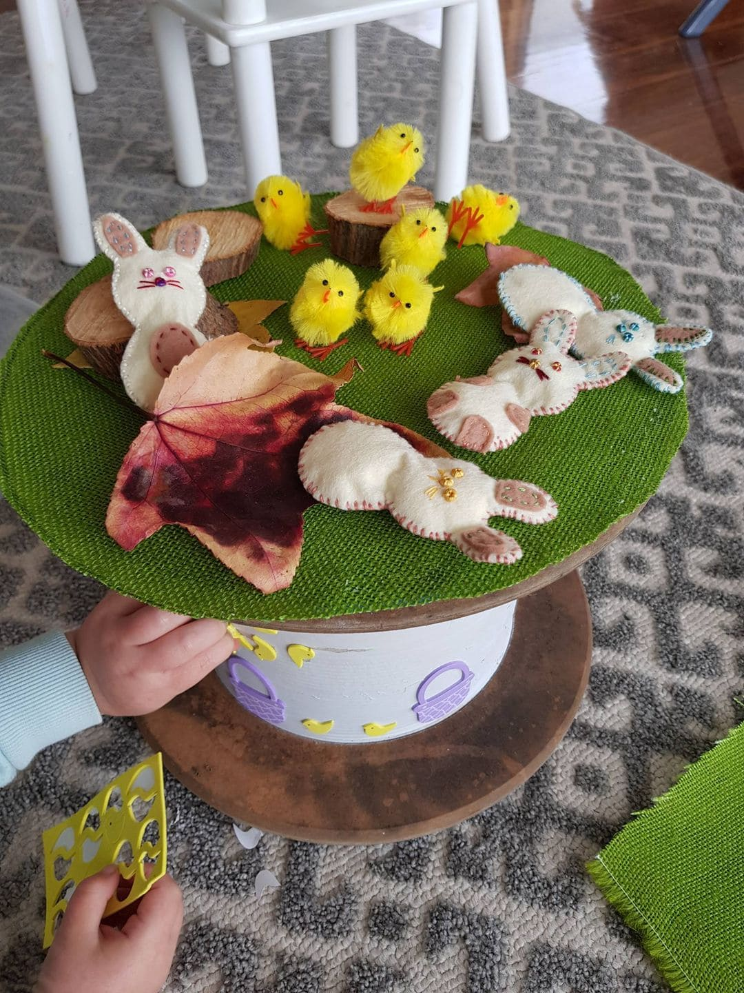 playful Easter activities for children - invitation to play