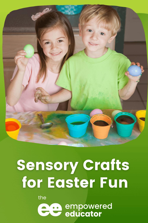 Sensory Crafts for Easter