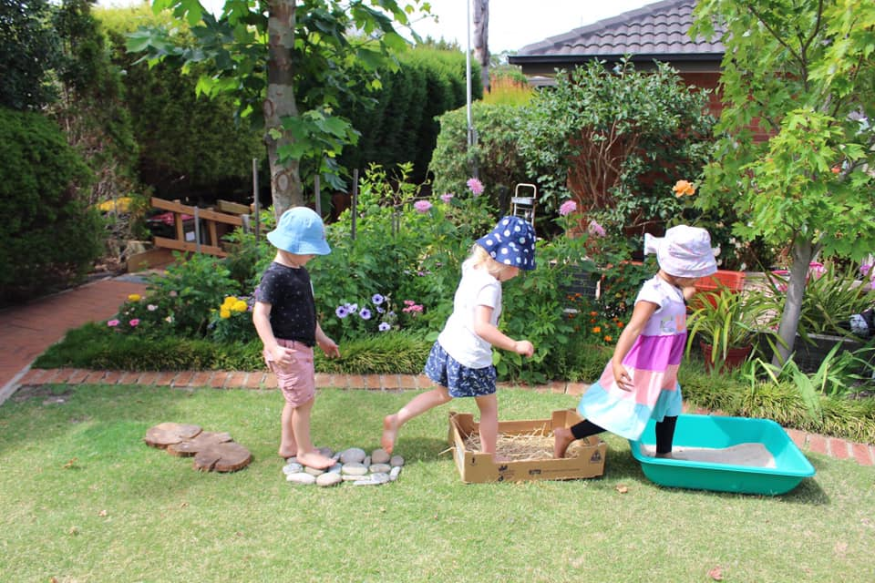 outdoor sensory paths for children