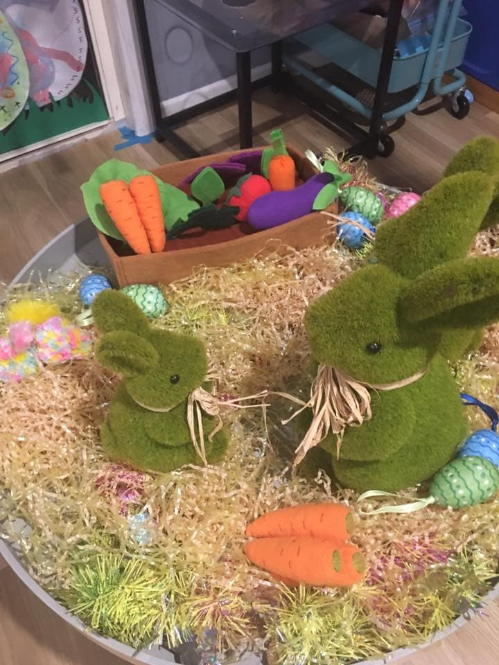 easter table playful Easter activities for children