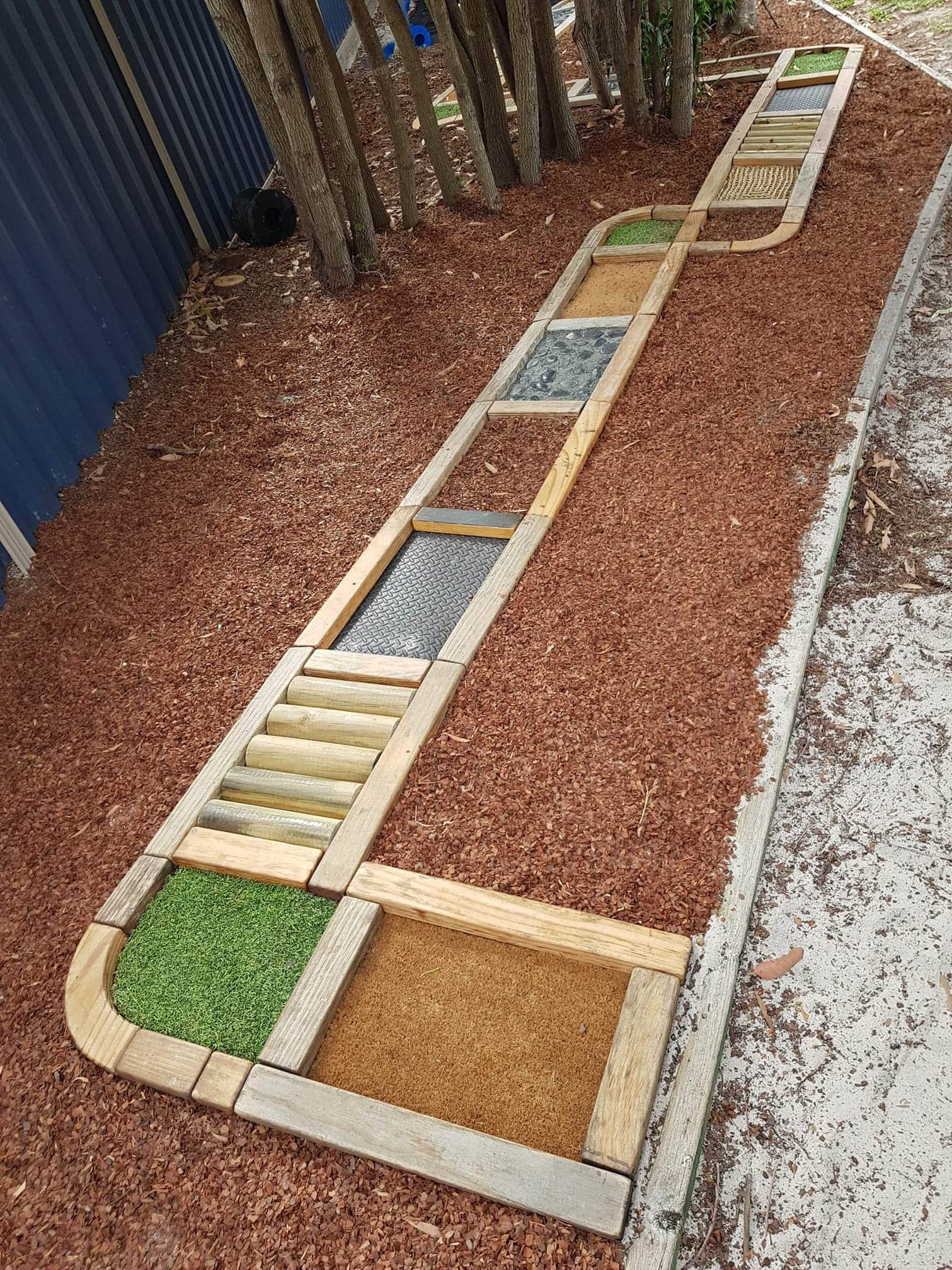 sensory path for early learning day care