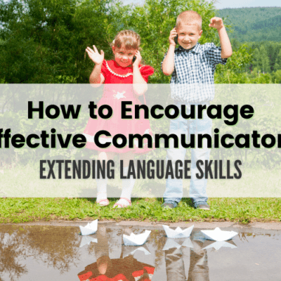 How to Support Communication in the Early Years.