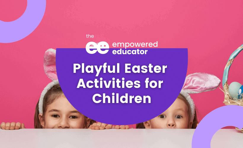 playful Easter activities for children
