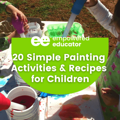 20 Simple Painting Activities & Recipes for Children