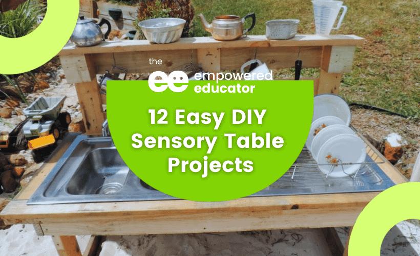 Easy DIY Sensory Table eylf