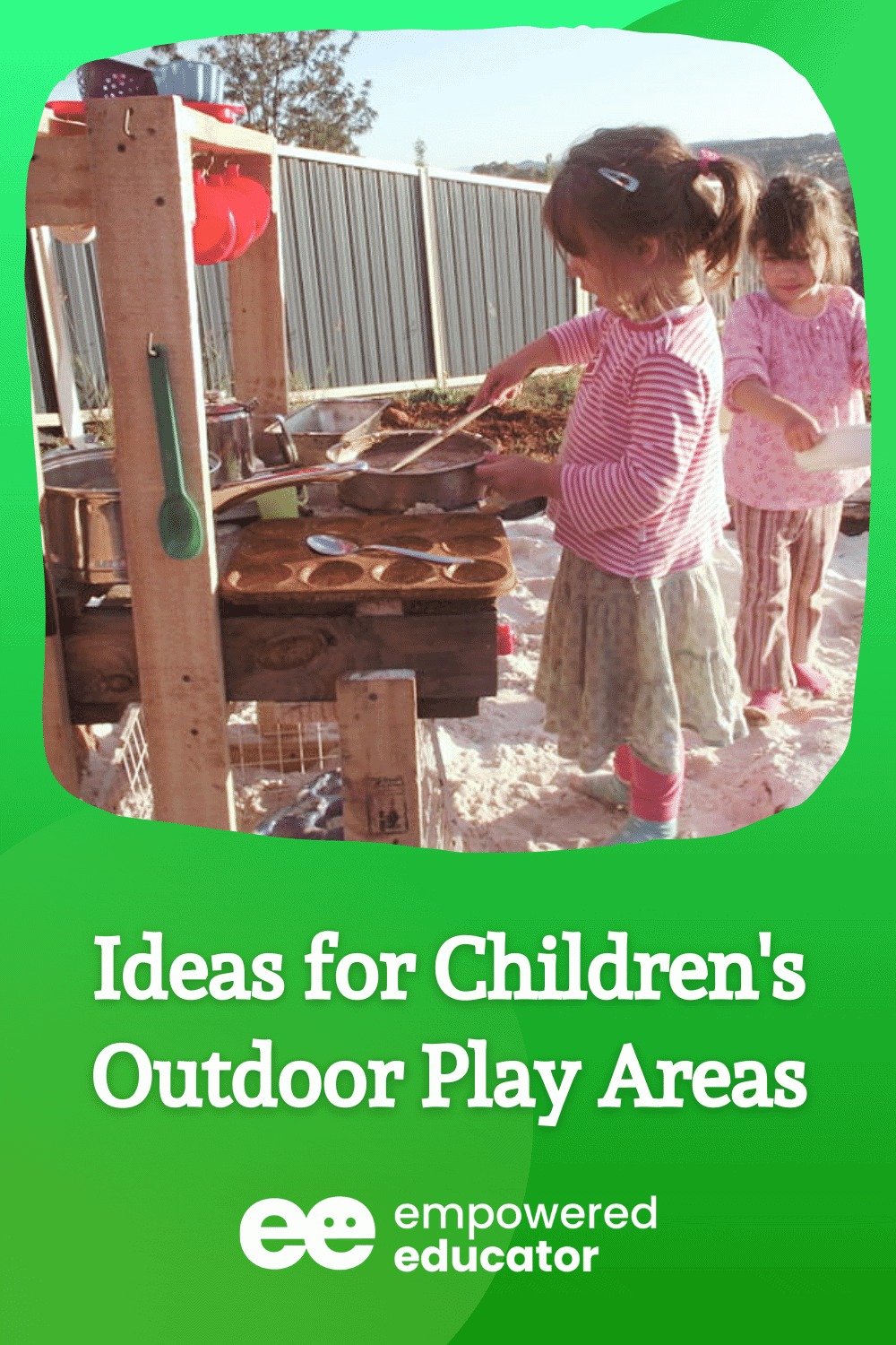 Ideas for Children's Outdoor Play Areas
