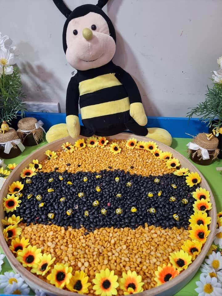 Bee Week setups early learning Anju