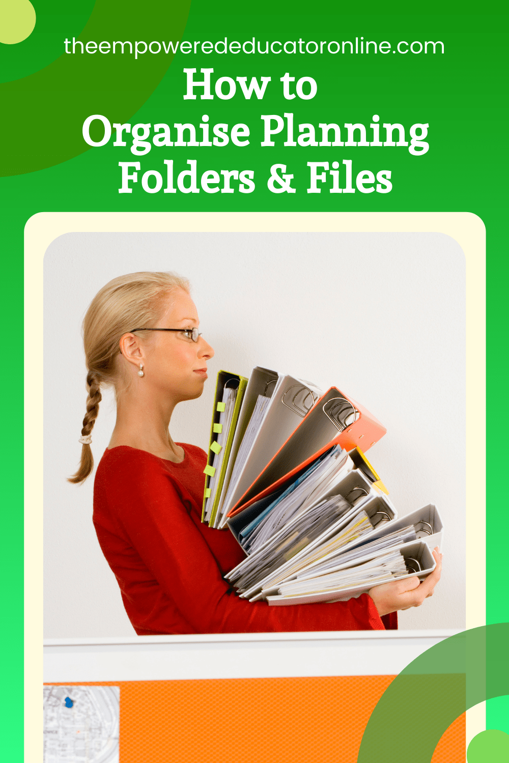 How to organise planning folders and files