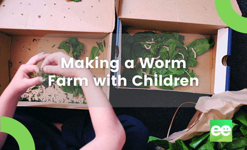 making a worm farm with children thumbnail