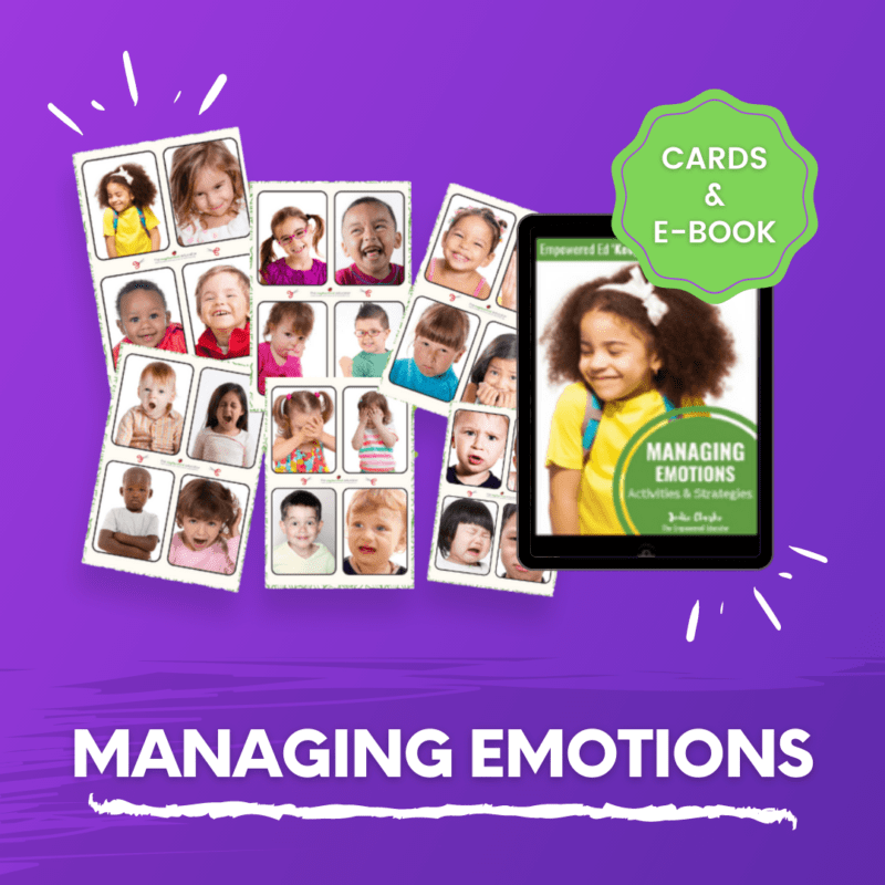 managing emotions cards and ebook