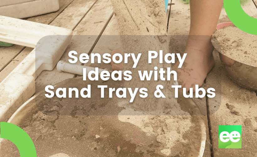 sand trays and tubs