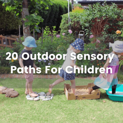 20 Outdoor Sensory Paths For Children
