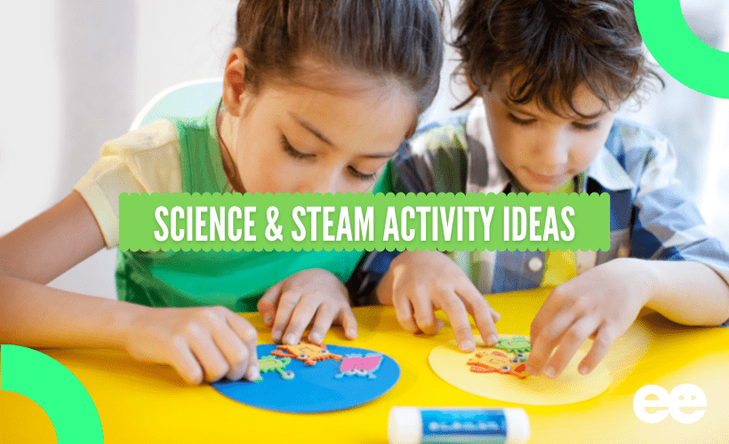 Science and STEAM activity ideas