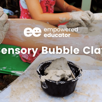 Sensory Bubble Clay Experience for all ages…