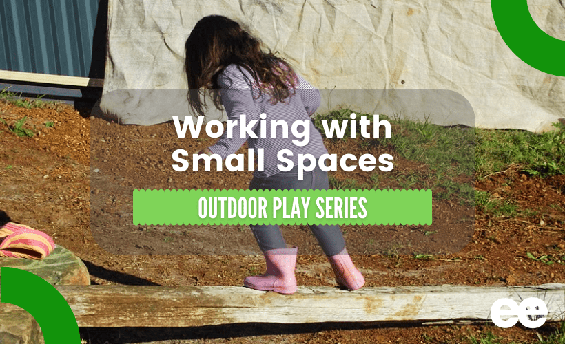 Working with small spaces