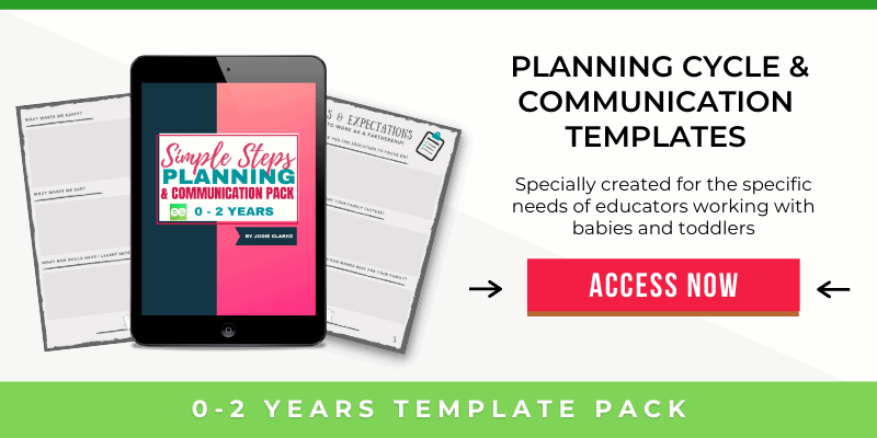 0-2 years template pack