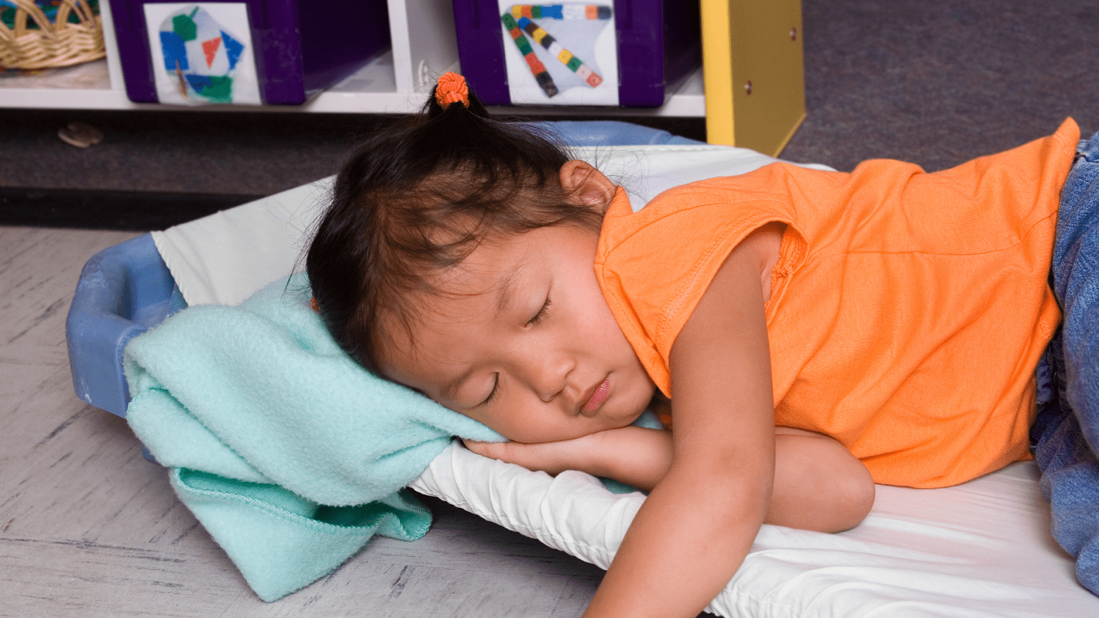 Make your childcare sleep and rest routines less stressful