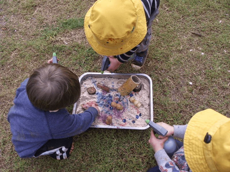 Activities Using Sensory Tools To Support Tactile Play