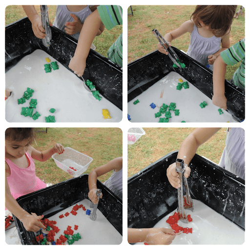 Tongs and Tweezers Activities Using Sensory Tools To Support Tactile Play