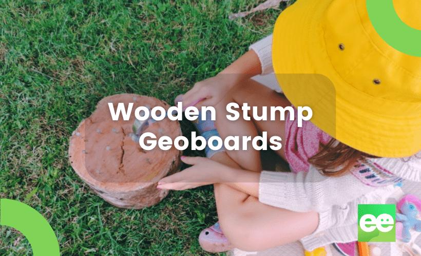 Wooden Stump Geoboards